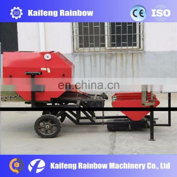Industrial high quality maize straw baler For sale