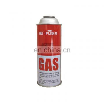 Made in china butane gas canister empty and newest design camping butane gas cylinder