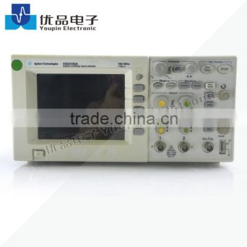 Agilent DSO3102A Oscilloscope: 2 Channels, 100 MHz, Color Display