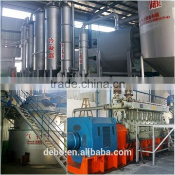 electric generator power plant water pipe 500kw biomass gasifier electric generator gasification power plant wood chips for