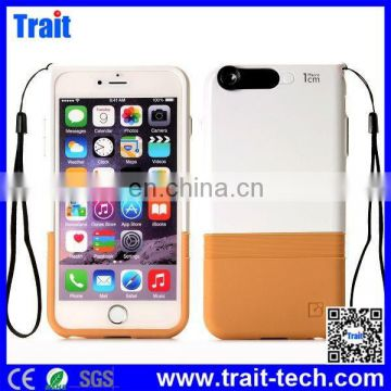 The Factory Price Double-layer Protective Back Case with Strap for iPhone 6 4.7 inch,for iphone 6 tpu case