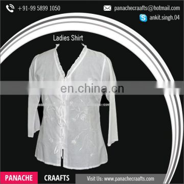Women Formal Blouse Fashionable Shirts for Girls