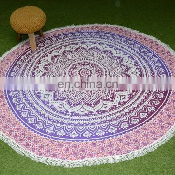 Eco-Friendly 100% cotton Modern Simple Custom Cotton Handmade Table Cloth