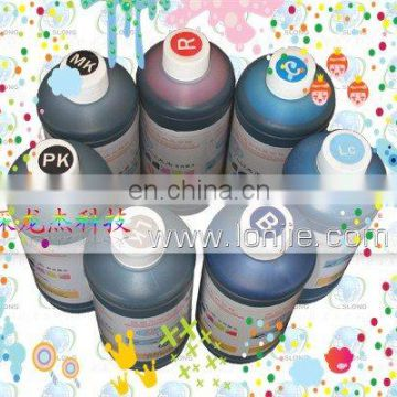 Eco-solvent ink for any materials on flatbed printer