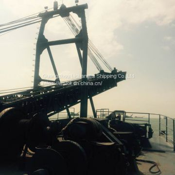 High Quality 4000T Inland River Self-unloading Sand Ship