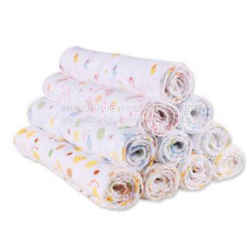 2 layer cotton gauze hand towel for baby face towel 29x29cm