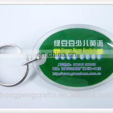 Professional keychain acrylic to customize wholesale with CE certificate