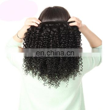 Cheap brazilian hair weave kinky hair