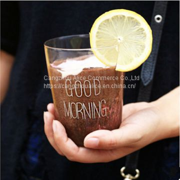 Wholesale high quality handmade Creative drinking glass cup