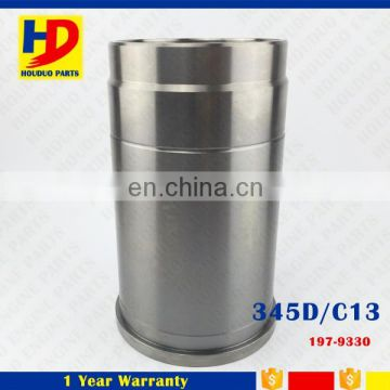 345D Forklift Engine Big Chrome Cylinder Liner Kit 197-9330
