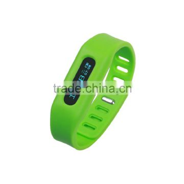 Performing as Pedometer and Sleep monitor Factory Stock Smart Wrist band