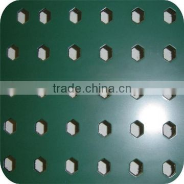 2015hot sale china supplier Perforated metal sintered wire mesh/puncing hole metal mesh plate