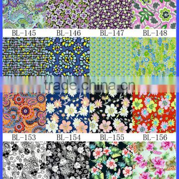 Floral Fabric ,Woven Small Floral printed fabric for dresses , table fabric