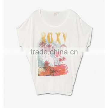 loose tshirt custom pattern el ladies tshirt