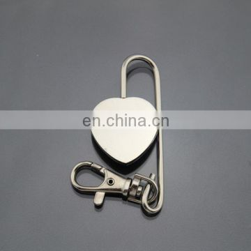 Cheap Price Custom Free Epoxy Logo Metal Key Chain Bag Holder