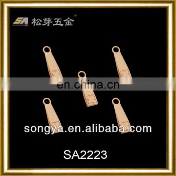 High material zipper and slider for garment