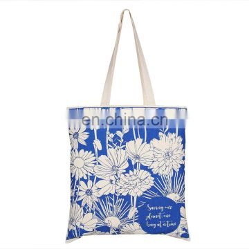 Reusable Organic Cotton Grocery Shopping Tote Bag