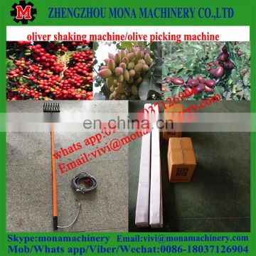 0086 18037126904 China portable coffee bean harvester/olive harvesting machine/oliver shaker