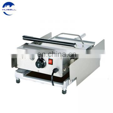 2019 New electric hamburger machine /commercial hamburger maker/ board bun toaster for sale