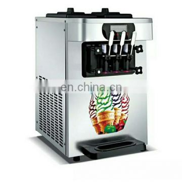 two storage tanks soft ice cream machine for sale