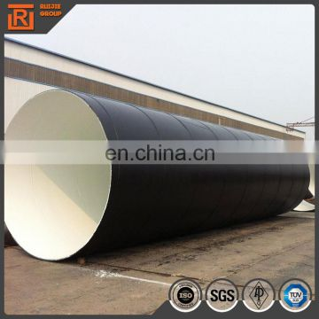 Oil Industry API 5L Spiral Welded Steel Pipe/Schedule 80 Spiral pipe price
