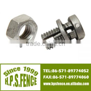 (China manufacture)Hot sale aluminum casted bolted connector bolts for electric fence wire