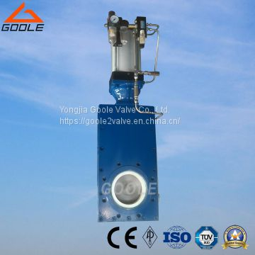 Pneumatic Ceramic Single Disc Gate Valve (GZ643TC)