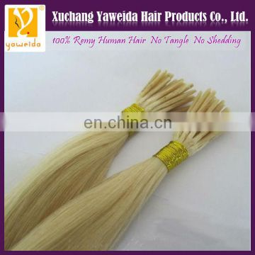 high quality i tip 100% indian remy hair extensions wholesale factory price
