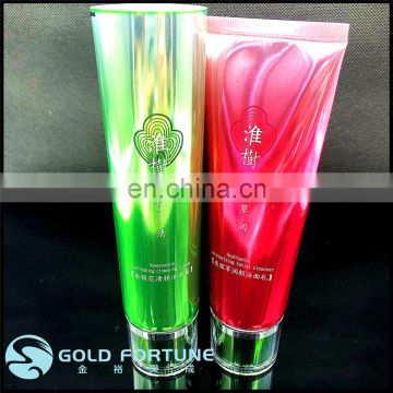 100ml washing empty plastic tube, empty cosmetic tubes 100ml, empty soft tubes packaging for cosmetics