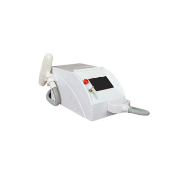 Portable mini q switched nd yag laser for tattoo removal pigmentation treatment dark face whitening carbon gel laser