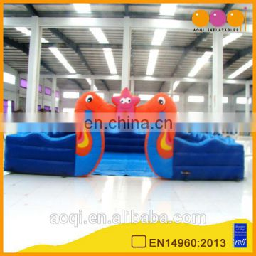 AOQI swan fun city /commercial inflatable fun city with free EN14960