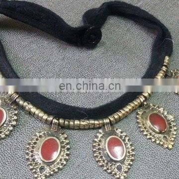 (KN-0002) Afghan kuchi necklace