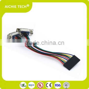 Custom Wiring Harness Round Cable with Molex 502351-0600 6 pin Wire on 6 pin throttle body, 6 pin voltage regulator, 6 pin ignition switch, 6 pin wiring diagram, 6 pin housing, 6 pin wire plug, wiring harness, 6 pin cable, 6 pin power supply, 6 pin power cord, 6 pin transformer,