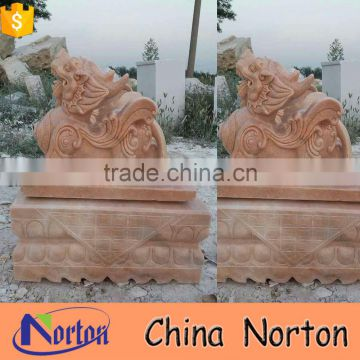 antique marble kylin sculpture for store decoration NTBM-A015X