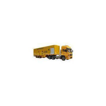 High Voltage Mobile Power Plant , 1200kw 6300V Diesel Truck