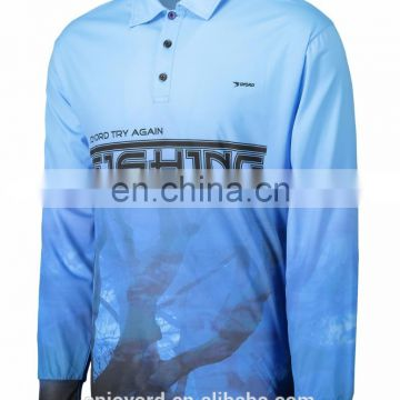 Custom design wholesale fishing clothing
