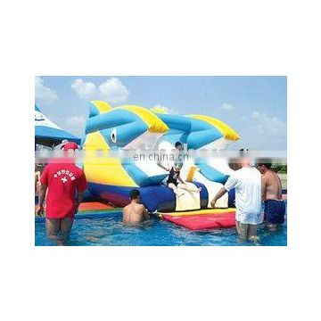 inflatable giant shark water park games outdoor water games