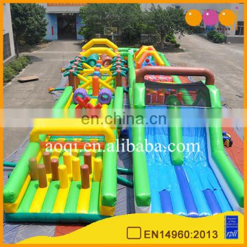 Obstacle Courses Type and PVC Material Inflatable Games for boot camp