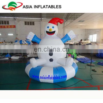 Summer Inflatable Water snow man , Aqua pool Toys
