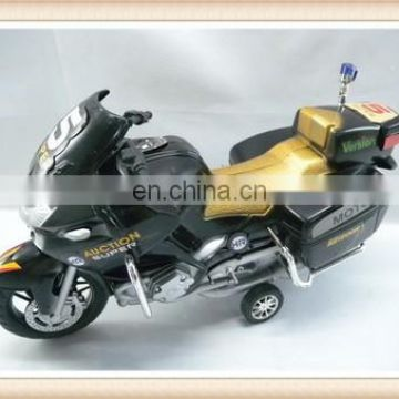 Friction plastic racing car toy mini motorcycle