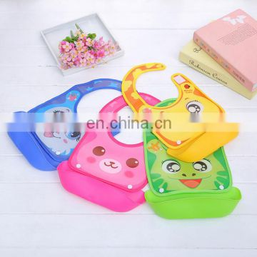 Silicone Baby Bibs Waterproof Baby Feeding Bibs Baby Burp Cloths For Children Self Feeding Care