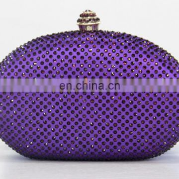 Handbags Ladies Clutches And Purses Metal Evening Clutch Bag,fushia color party clutch bags No.1024A
