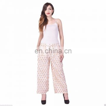 Hand-Block-Print-100-Cotton-Trouser-women-Yoga-Trouser-Indian-Alibaba-pant Hand-Block-Print-100-Cotton-Trouser-women-Yoga-Trou