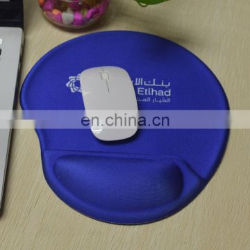Handmade silicon gel wrist support mouse pad