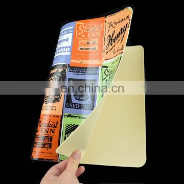 hot sales custom restaurant placemat laminated