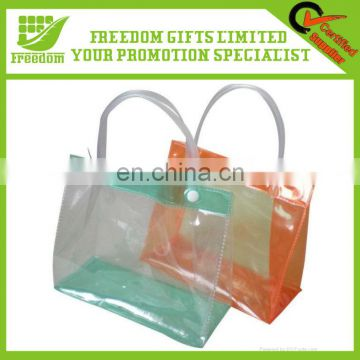 Logo Printed Customized PVC Shopping Bag