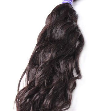 Pre-bonded  12 -20 Inch Natural Black Loose Weave Afro Curl Curly Human Hair Wigs