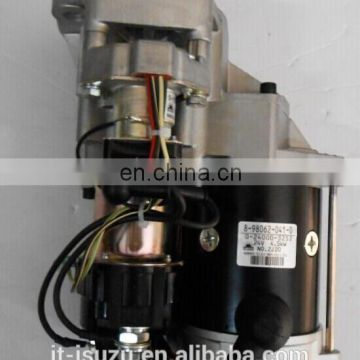8980620410 for 4BG1 genuine auto part starter motor assy