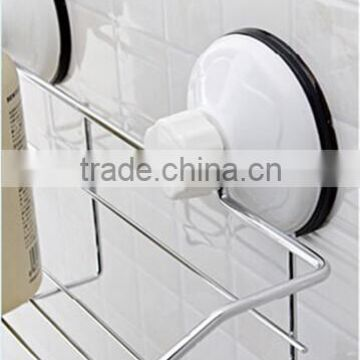 Metal bathroom rack with suction cup PF-E011