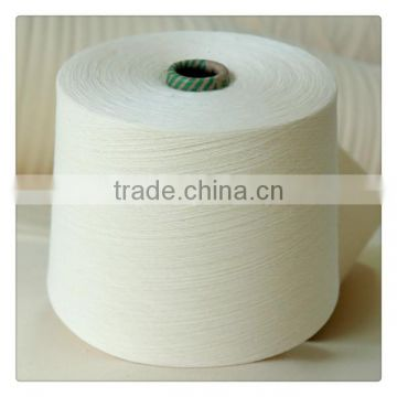 100% Combed Cotton Yarn Raw white 40s/2 price in high quality